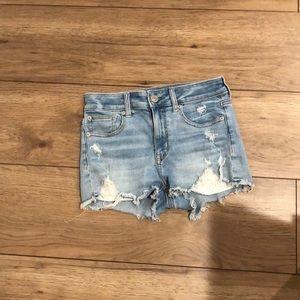 Women's American Eagle denim shorts, size: 2